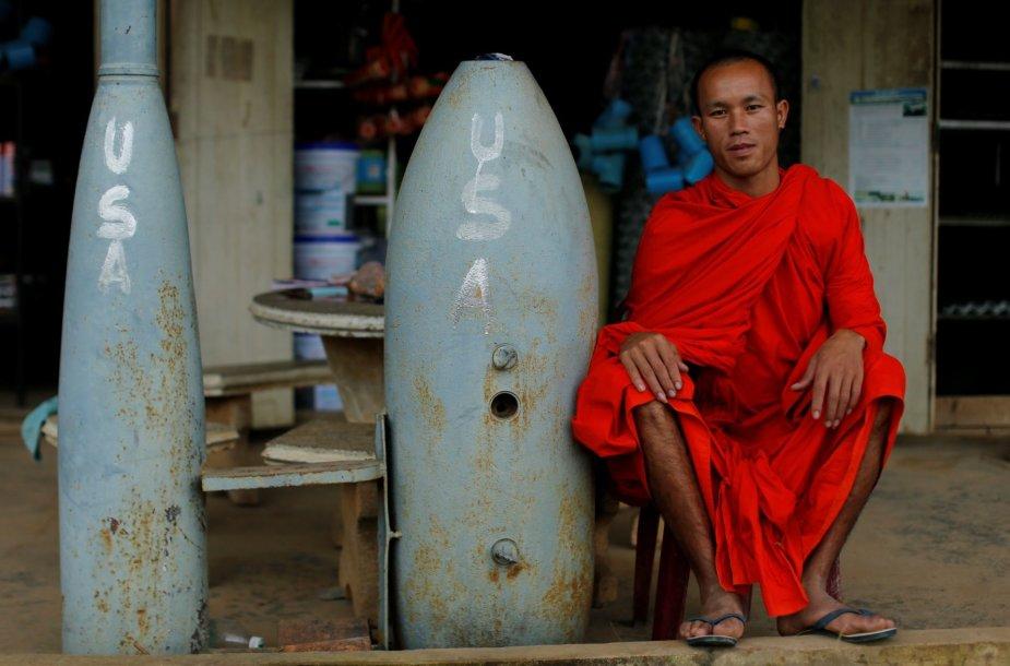 Vietnamo karo padariniai juntami ir šiandieniniame Laose