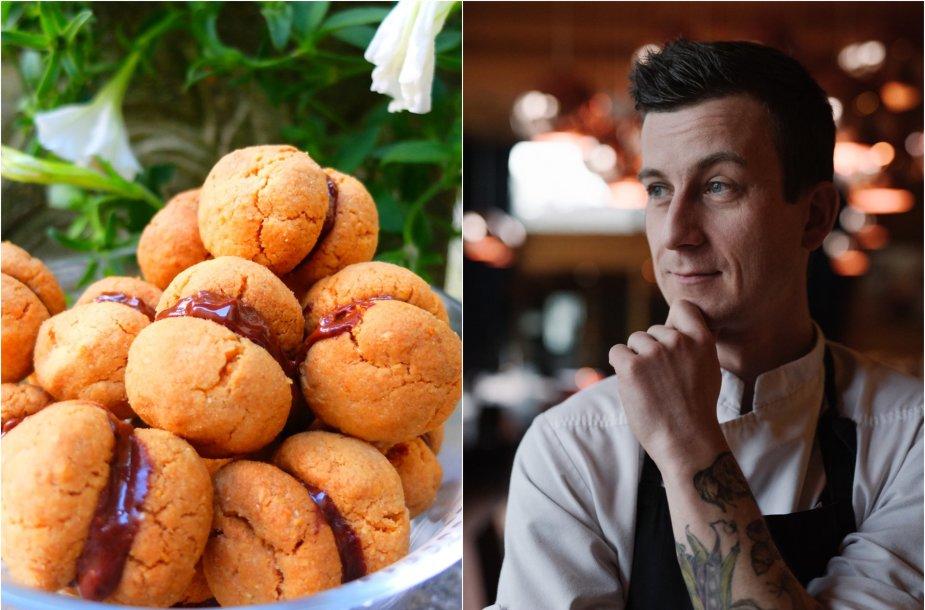 Justinas Kapkovičius ir jo kepti sausainiai