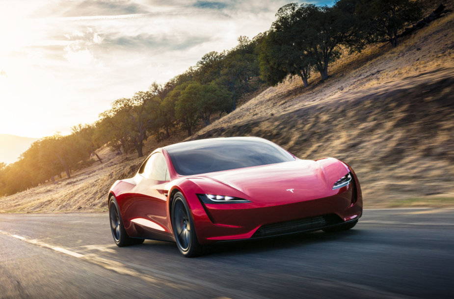 """Naujasis """"Tesla Roadster"""""""