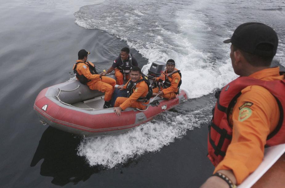 Indonezijos gelbėtojai