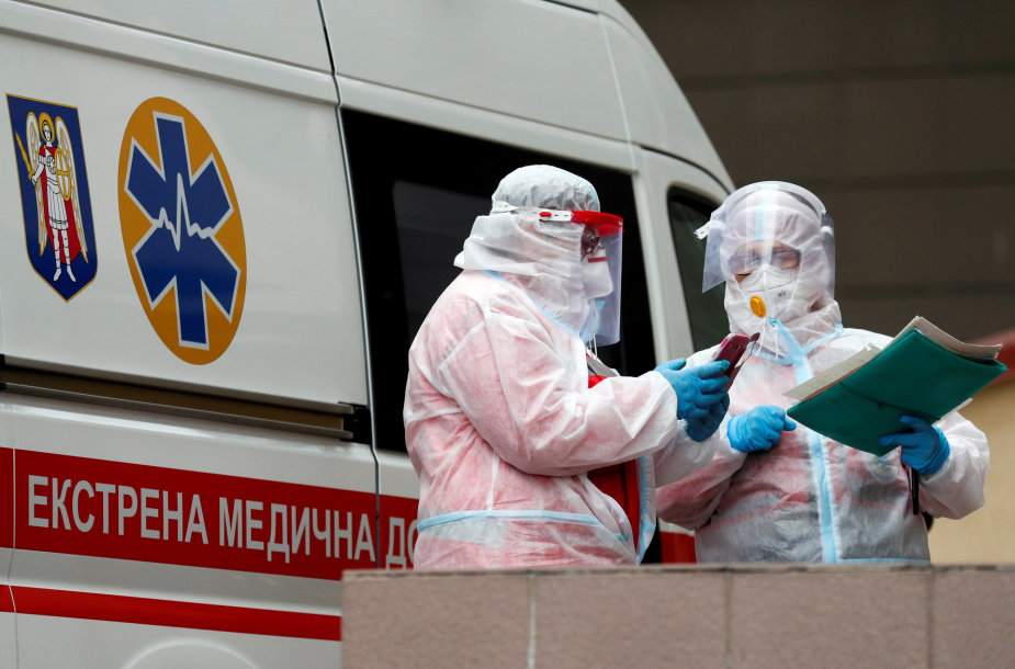 Kova su koronavirusu Ukrainoje