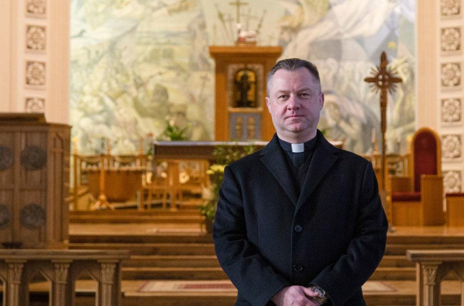 Kunigas Mindaugas Šlaustas, Klaipėdos Marijos Taikos karalienės parapijos klebonas