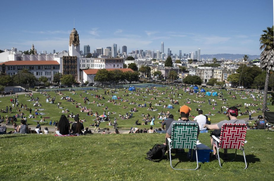 Gyvenimas San Fransiske pandemijos metu