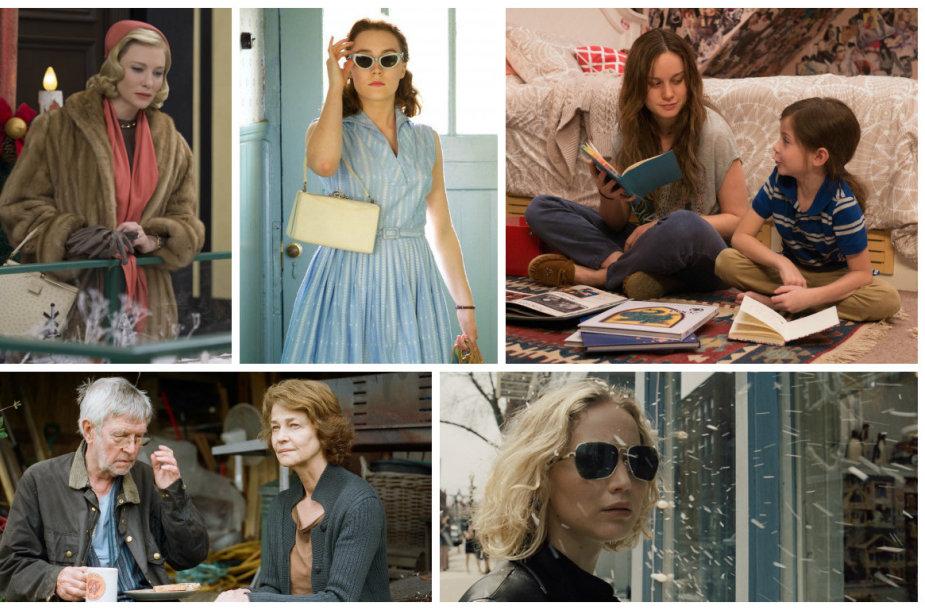 """Pretendentės į geriausios pagrindinės aktorės """"Oskarą"""""""
