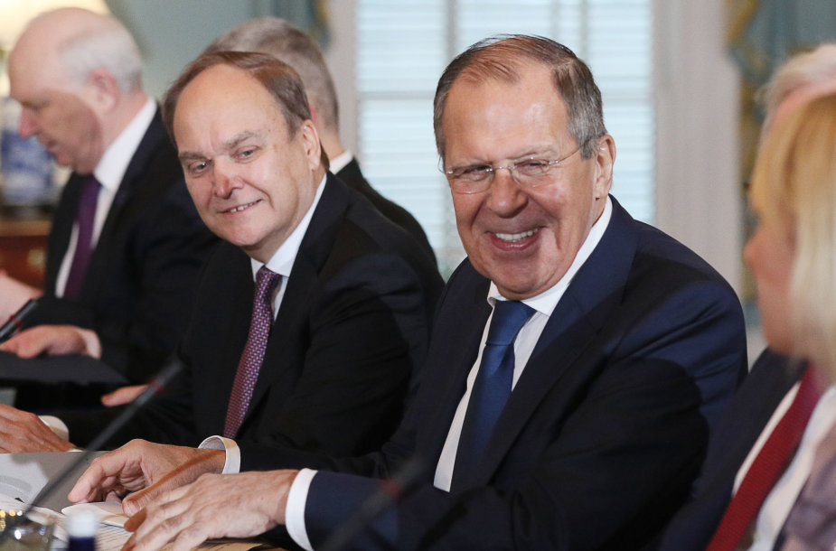 Sergejus Lavrovas Vašingtone