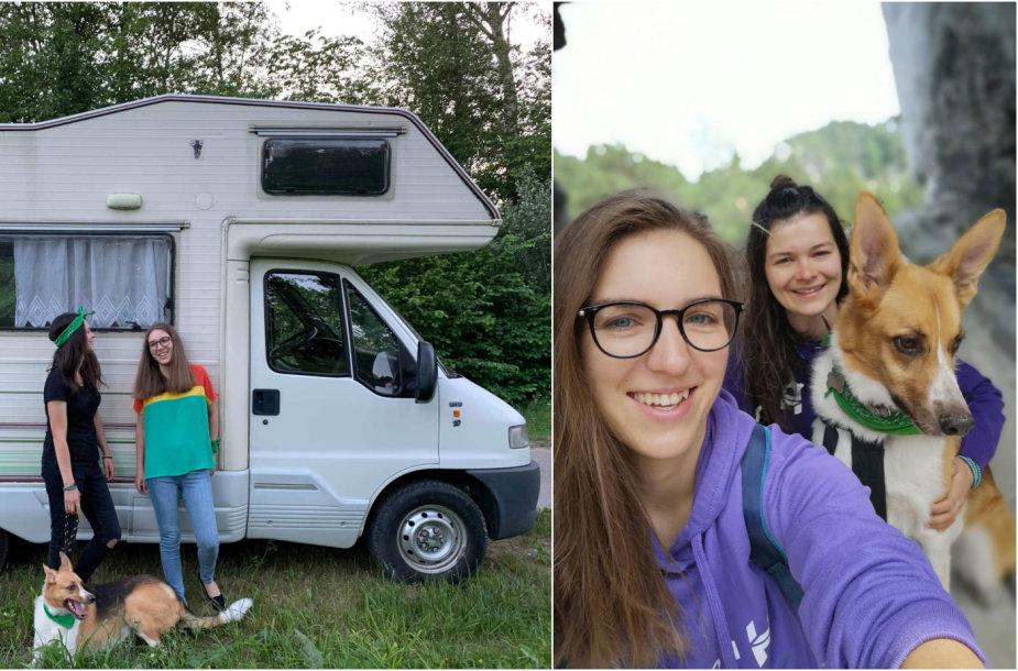 Monika Lausytė ir Ieva Šapalaitė