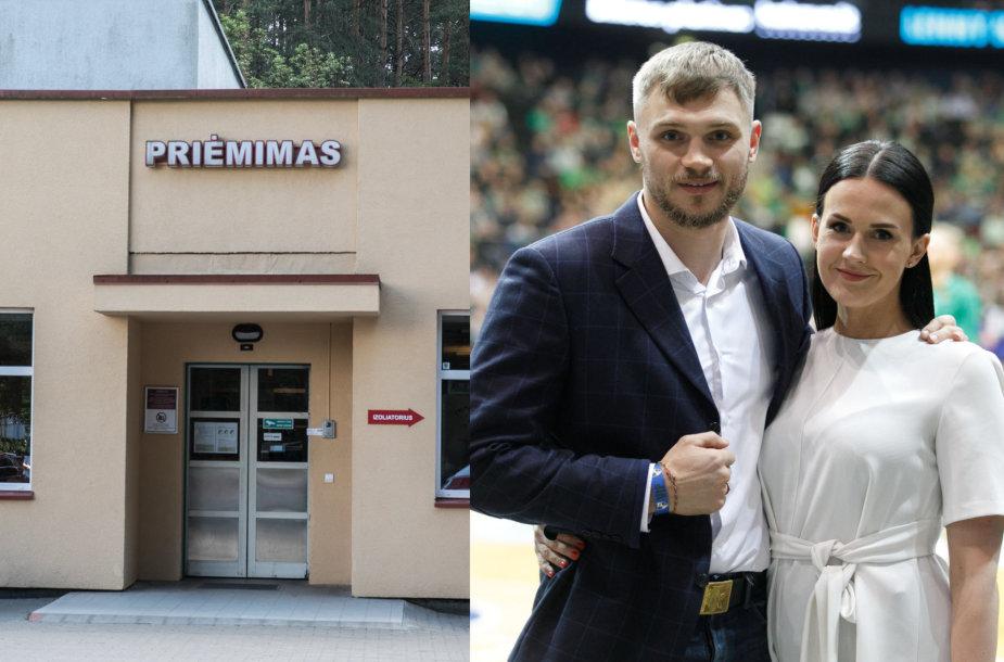 Priėmimas, Sergejus Maslobojevas su žmona Airine