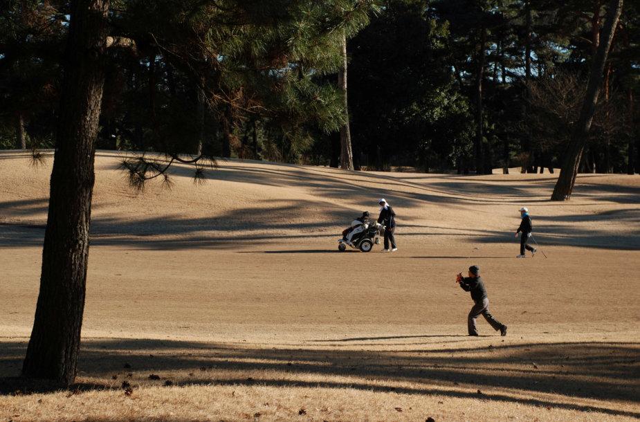 Tikijo golfo klubas, kur turėtų būti rengiamos ir olimpinės žaidynės