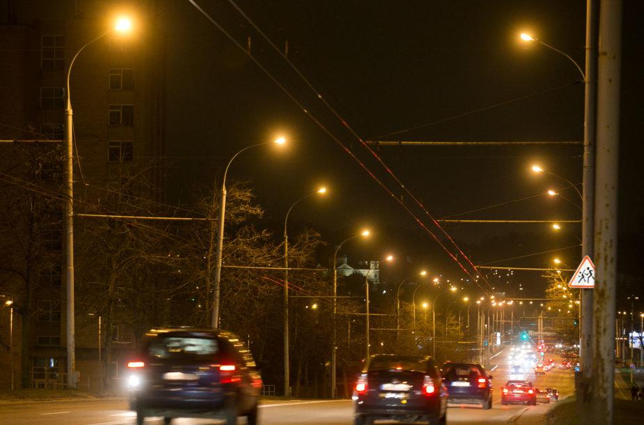 Vilniaus gatvių žibintai