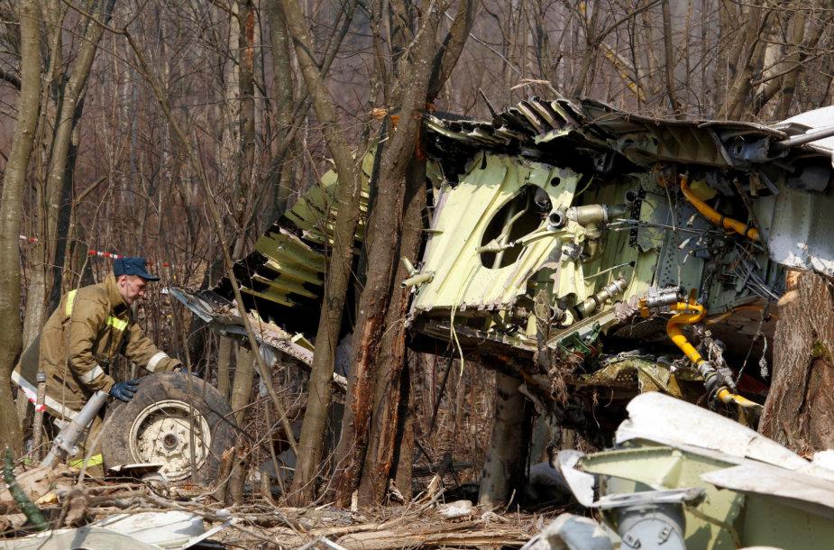 Lenkijos prezidentinio lėktuvo katastrofa prie Smolensko
