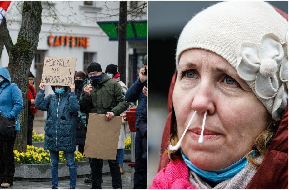 Pradinukų tėvų protestas