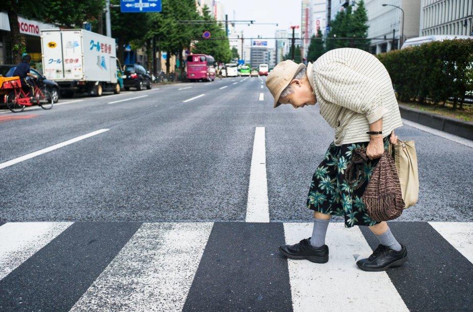 Ilgaamžiai Tokijo gyventojai