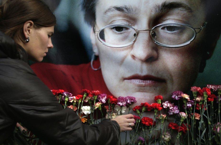Pagerbiama Ana Politkovskaja