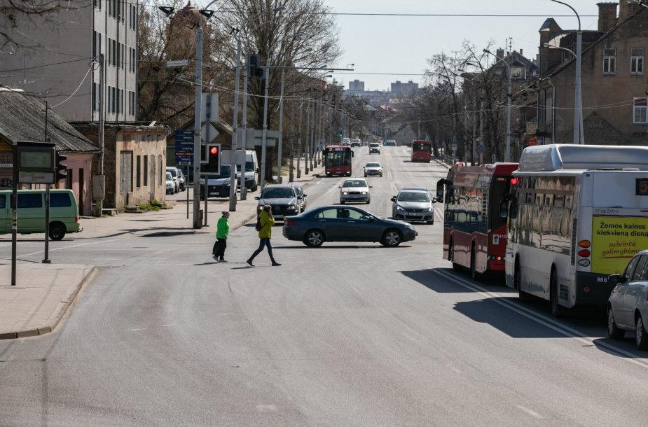 A juostų plėtra Vilniuje