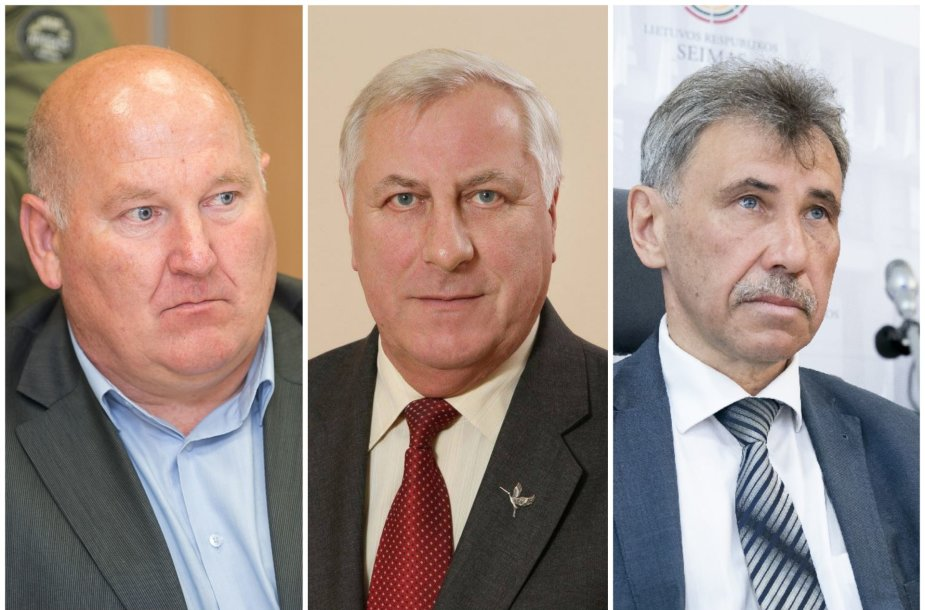 Petras Nevulis, Vytautas Rastenis ir Zbignevas Jedinskis
