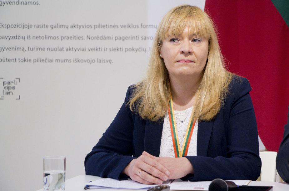 Inauguracijos komisijos pirmininkė Algė Budrytė