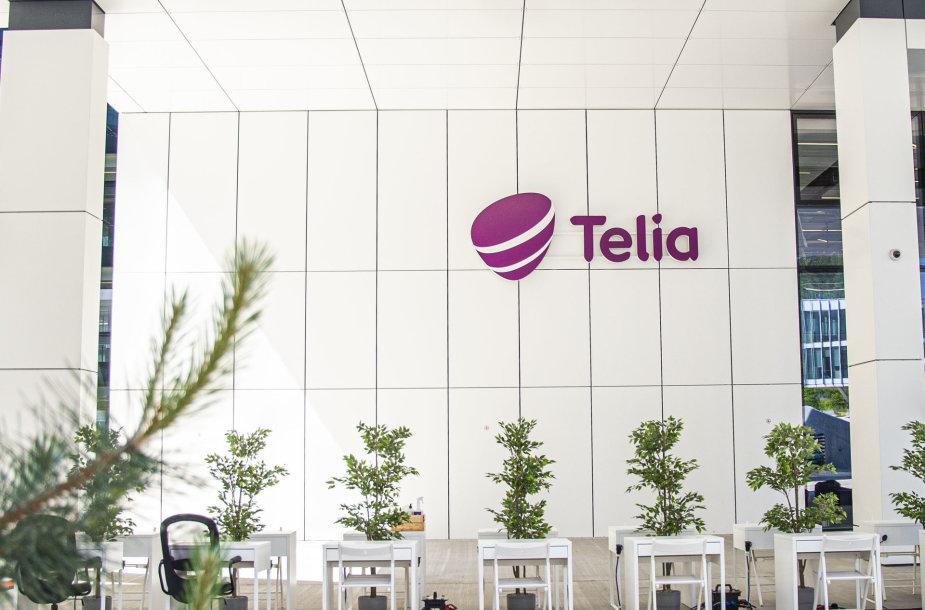 """Saltoniškėse """"Telia""""  įrengė biurą darbuotojams lauke"""