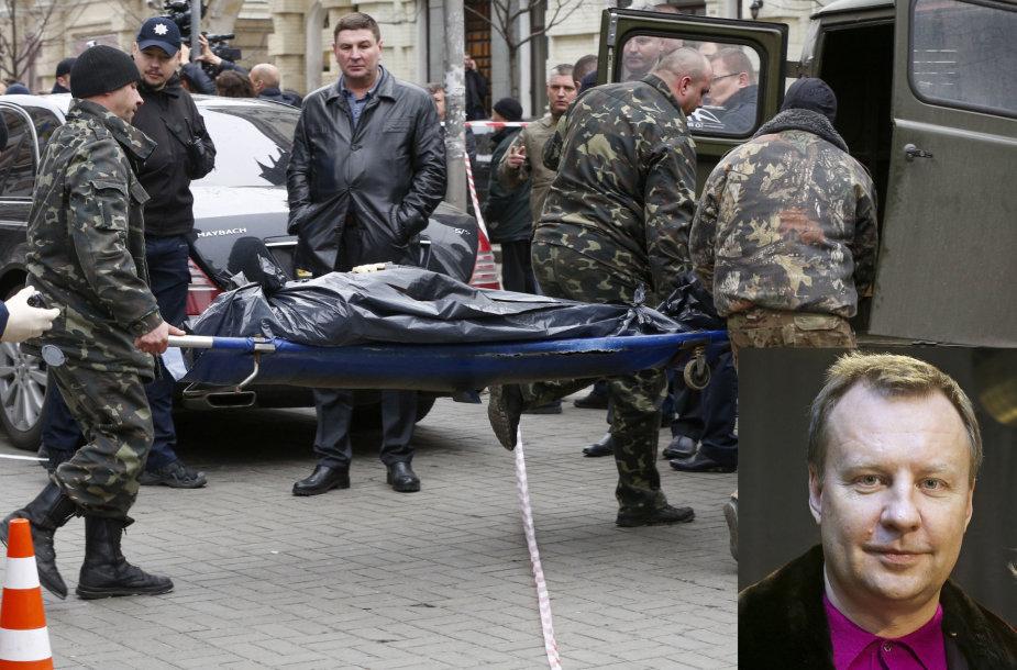Kijevo centre nužudytas buvęs Rusijos Valstybės Dūmos deputatas Denisas Voronenkovas