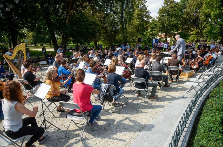 LVSO koncertų sezono pristatymas