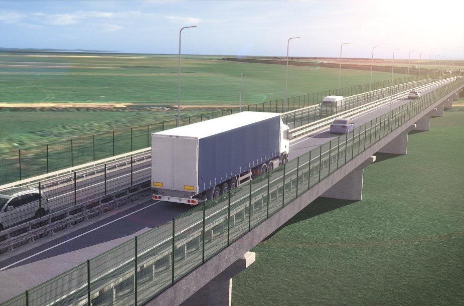 Valstybinės reikšmės magistralinio kelio A12 Ryga–Šiauliai–Tauragė–Kaliningradas ruožo nuo 183,90 iki 187,90 km (Panemunės miesto rytinio aplinkkelio) tiesimo su tiltu per Nemuno prataką techninis darbo projektas
