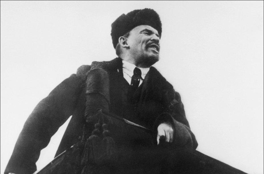 Vladimiras Leninas 1918 metų spalį