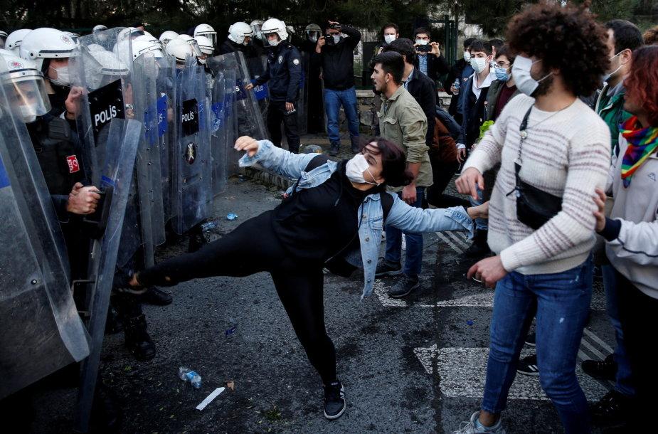 Protestas Stambule