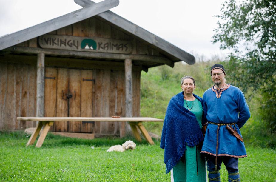 """""""Vikingų kaimas"""" – patyrimų muziejus po atviru dangumi"""