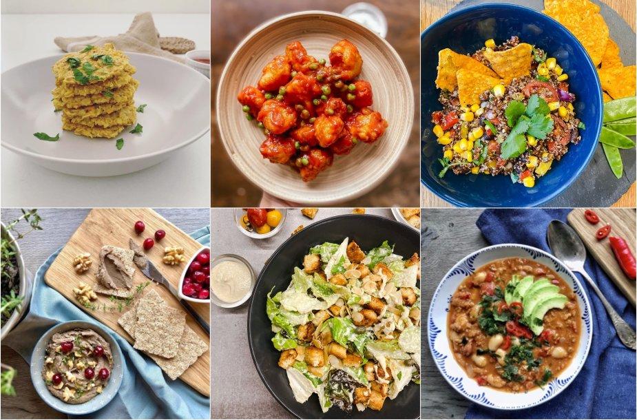 Nesudėtingi veganiški patiekalai