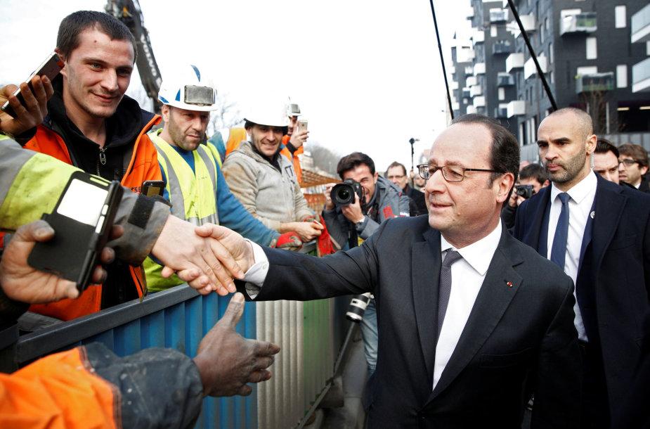 2012 metų Prancūzijos prezidento rinkimus laimėjo Francois Hollande'as