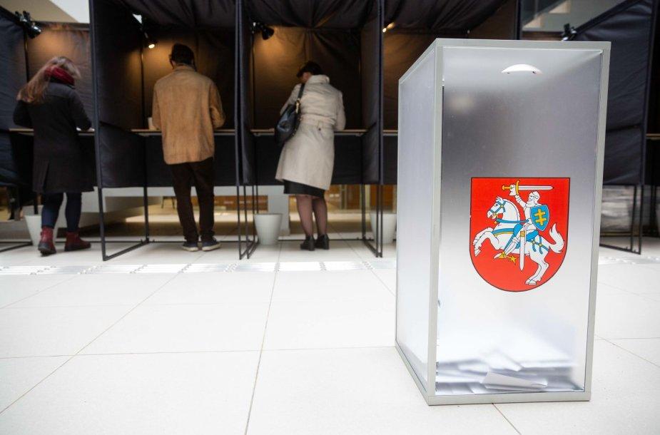 Paskutinė išankstinio balsavimo diena