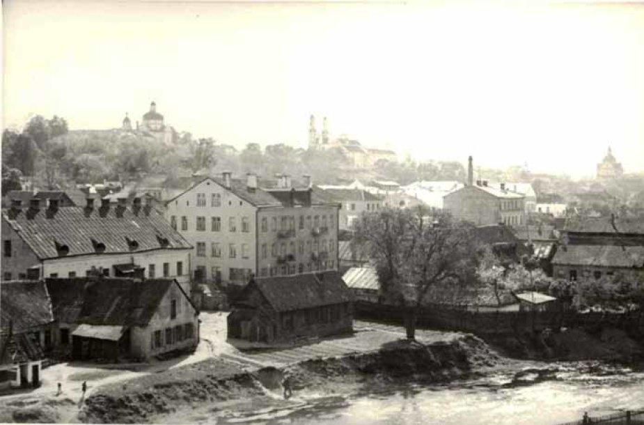 Vilniaus Pohuliankos (dabar J.Basanavičiaus) gatvė 1930 metais