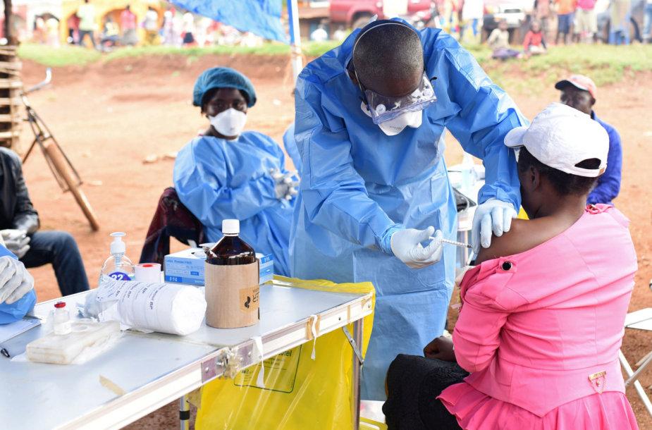 Ebolos protrūkis Kongo Demokratinėje Respublikoje