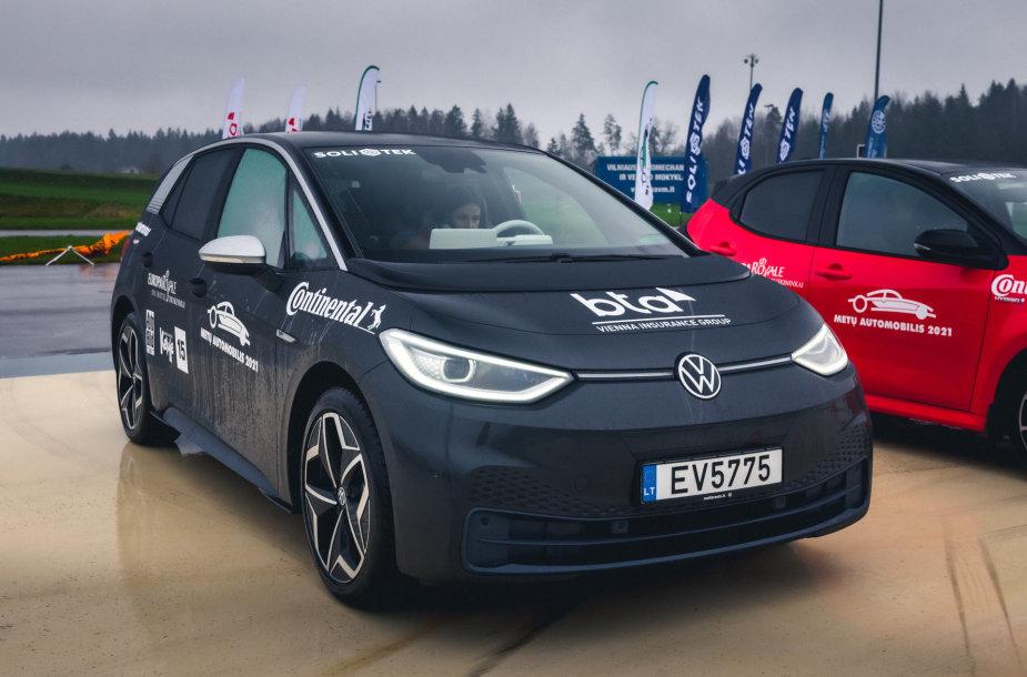 """Konkurso """"Lietuvos metų automobilis"""" dalyviai elektromobiliai"""
