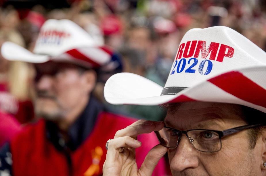 Teksasiečiai dažniausiai balsuoja už respublikonus – kaip bus šį kartą?
