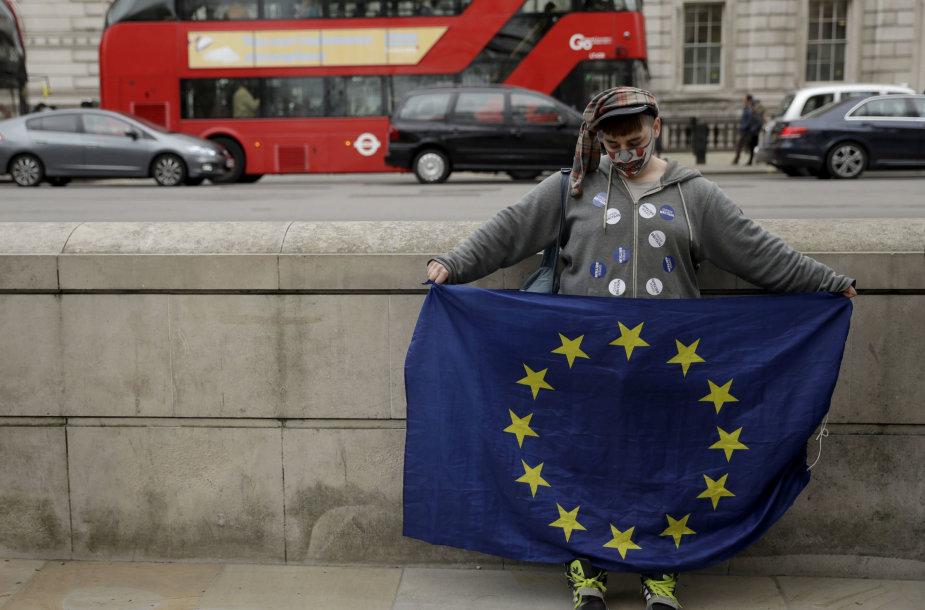 ES šalininkas Londone