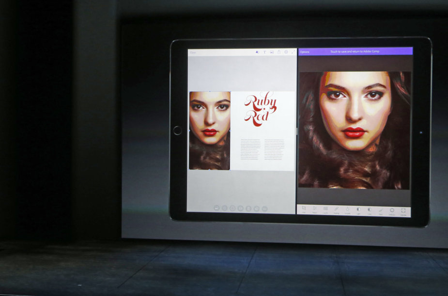 """""""Apple"""" produktų pristatymas"""