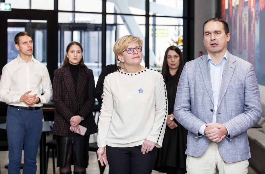 Ingrida Šimonytė pristatė savo komandą Prezidento rinkimuose