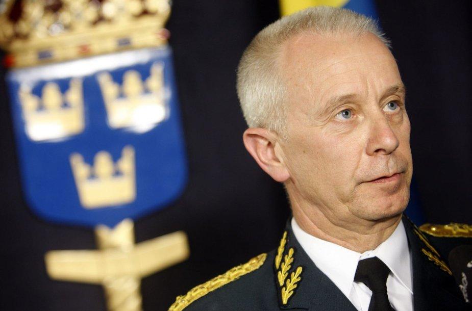 Švedijos kariuomenės vadas Serkeris Göransonas
