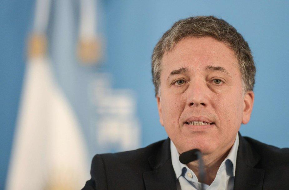 Atsistatydino Argentinos ekonomikos ministras Nicolas Dujovne