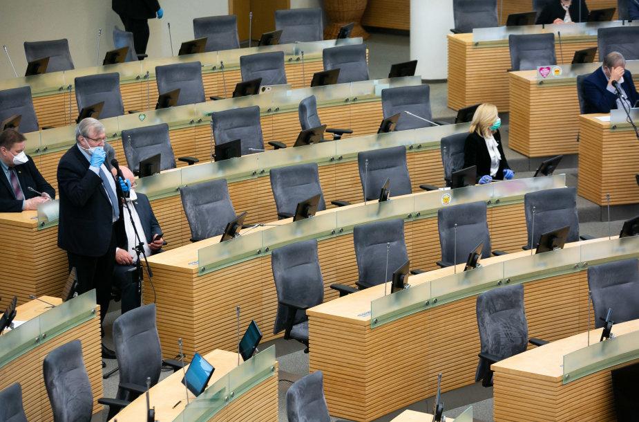 Neeilinis Seimo posėdis