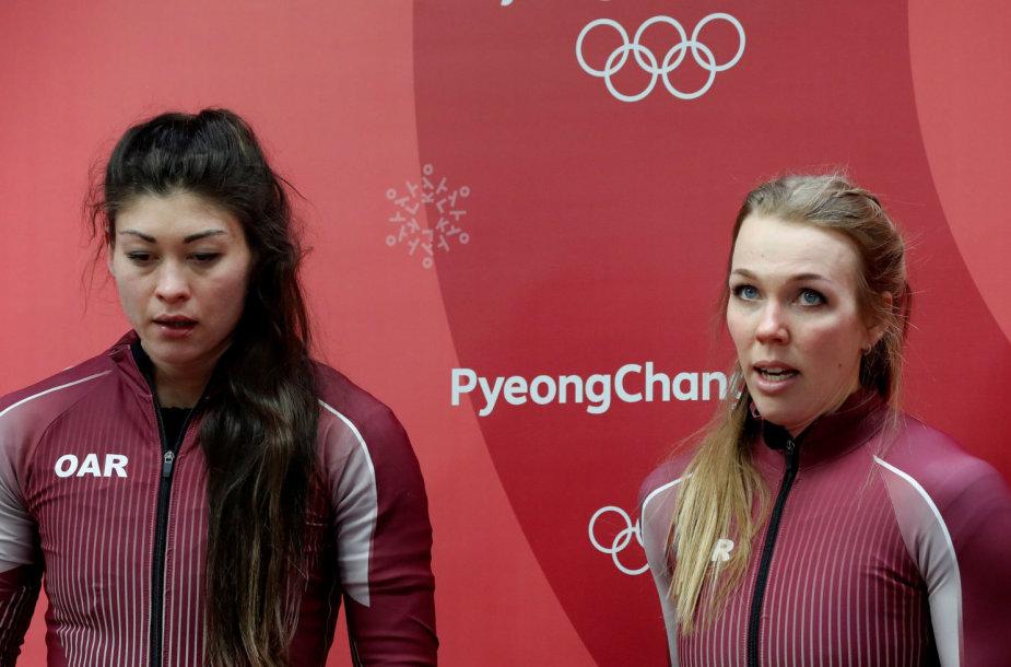 Nadežda Sergejeva oficialiai pašalinta iš olimpinių žaidynių.