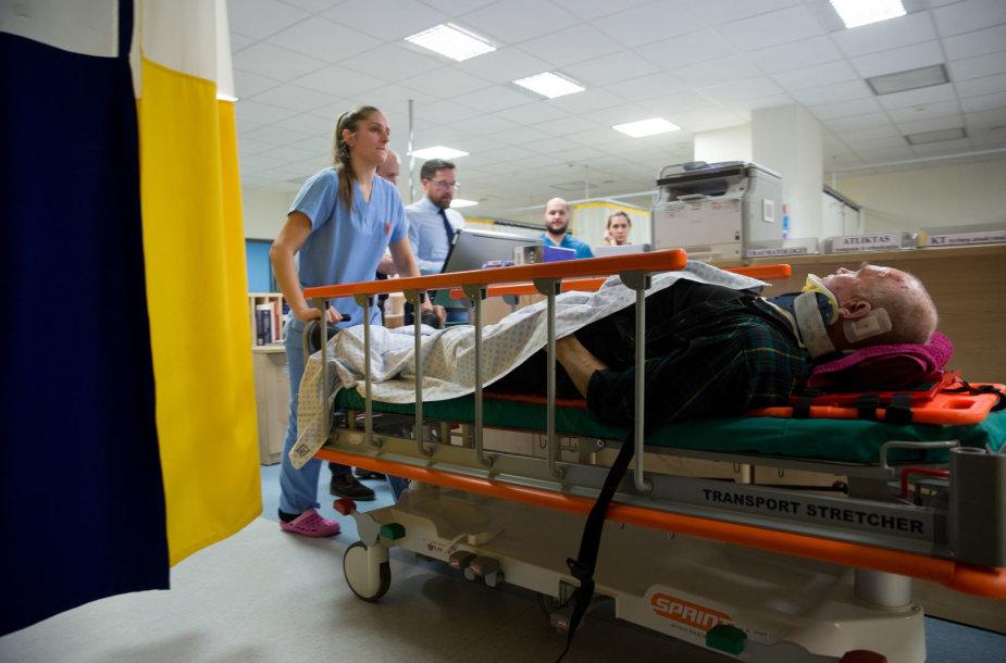 Naktis Kauno klinikų traumų ir skubios pagalbos centre