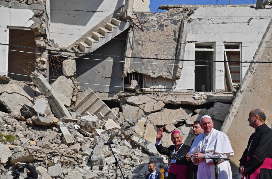 Popiežius Pranciškus Mosule