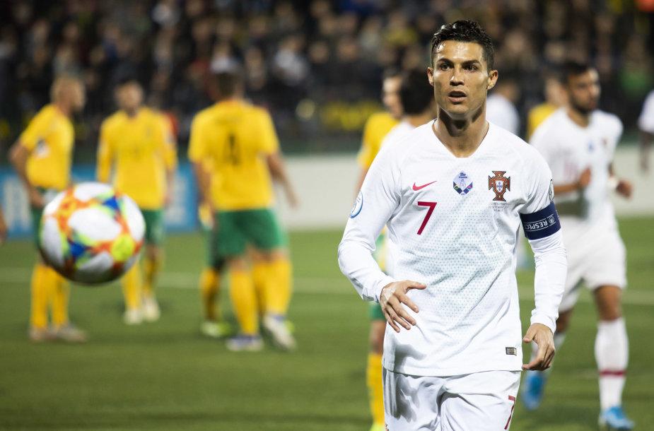 """Euro 2020"" atranka: Lietuva-Portugalija"