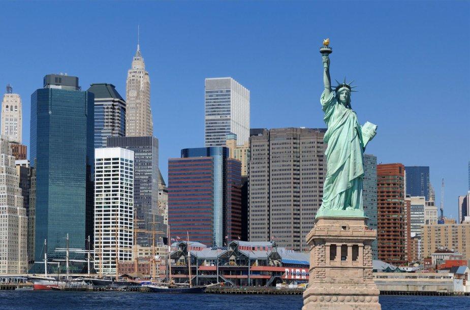 Laisvės statula Niujorke