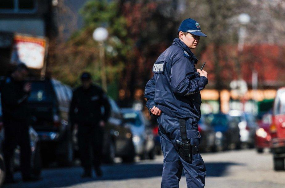 Bulgarijos policininkas