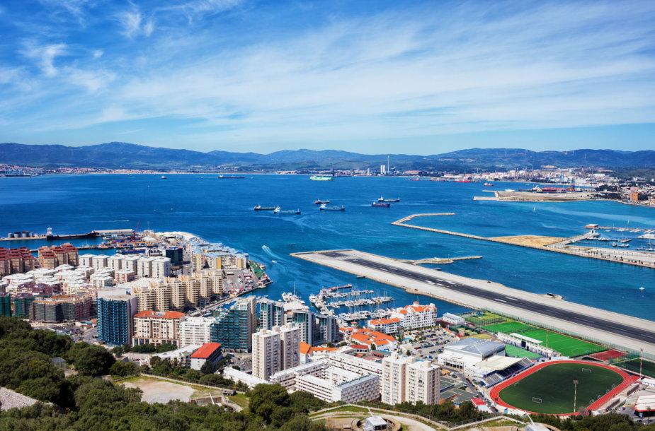Gibraltaro oro uostas