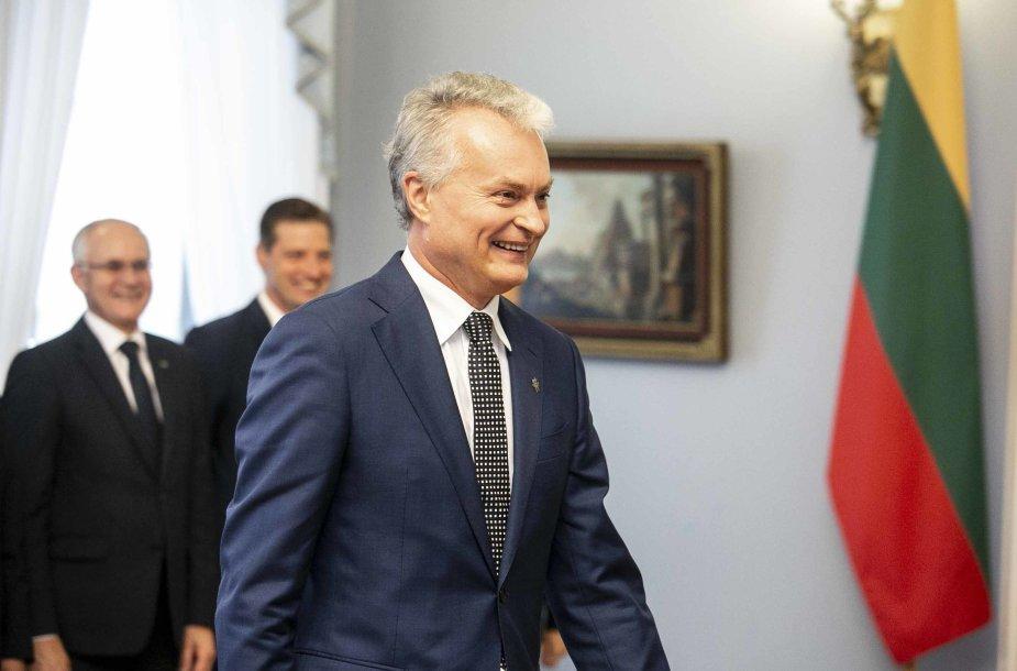 Prezidentas Gitanas Nausėda