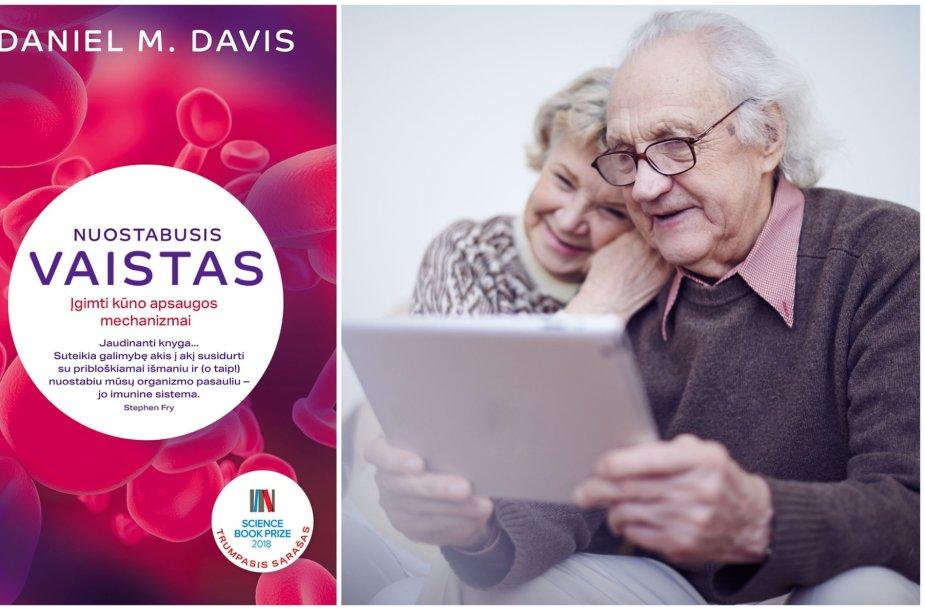 D.M.Daviso knygos viršelis ir senjorų pora