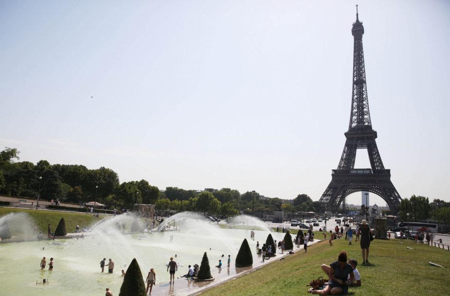 Karščio banga Paryžiuje